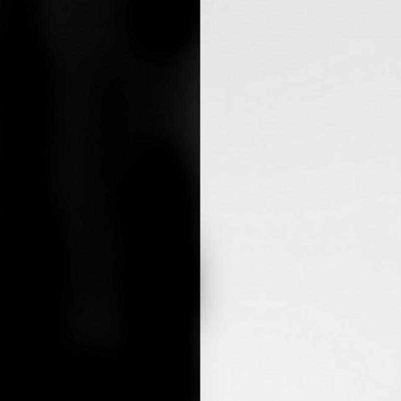 Vinyle pour boucles d'oreilles créoles Les Georgettes Noir/Blanc 703218484M4000