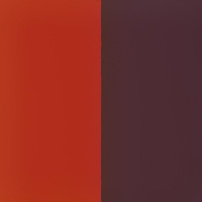 Vinyle pour boucles d'oreilles créoles Les Georgettes Rouge orangé/Brun rosé 703218484M6000