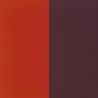Vinyle pour boucles d'oreilles demi lune Les Georgettes Rouge orangé/Brun rosé 703218384M6000