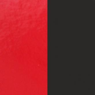 Vinyle pour boucles d'oreilles demi lune Les Georgettes Rouge vernis/Noir 703218384AO000