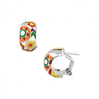 Boucles d'oreilles Una Storia Summer argent 925/000 BO12187