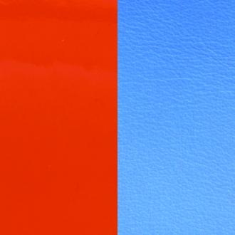 Vinyle pour boucles d'oreilles créoles Les Georgettes Orange/bleuet 703218484C2000