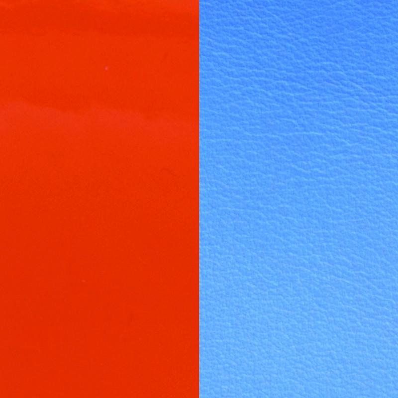 Vinyle pour boucles d'oreilles demi lune Les Georgettes Orange/Bleuet 703218384C2000
