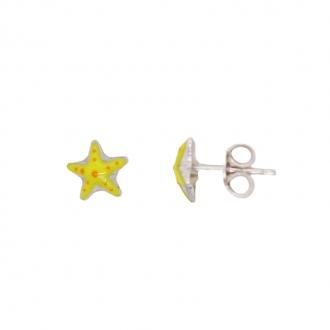 Boucles d'oreilles Carador Argent 925/000 étoile de mer