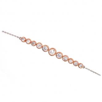 Bracelet Silver pop argent tendance à multiples formes