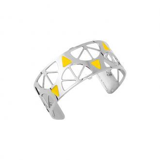 Bracelet Les georgettes Les Couleurs design Sunrise finition argent 25 mm 70316251604000