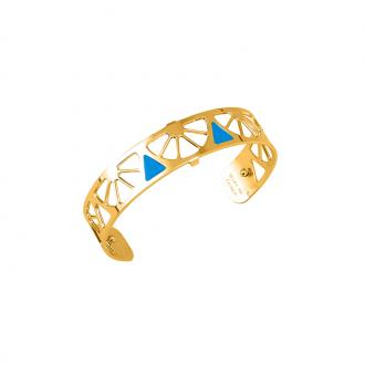 Bracelet Les georgettes Les Couleurs design Sunrise finition or 14 mm 70316260111000