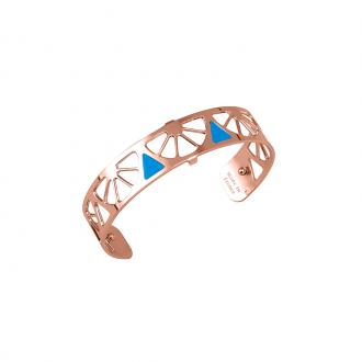 Bracelet Les georgettes Les Couleurs design Sunrise finition or rose 14 mm 70316264011000