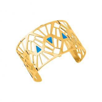 Bracelet Les georgettes Les Couleurs design Mai Tai finition or 40 mm 70316270111000