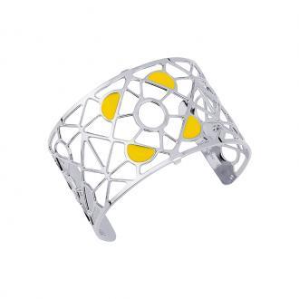 Bracelet Les georgettes Les Couleurs design Bora Bora finition argent 40 mm 70316301604000
