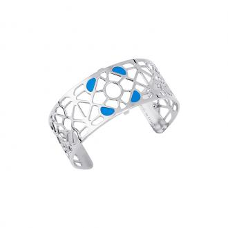 Bracelet Les georgettes Les Couleurs design Bora Bora finition argent 25 mm 70316311611000