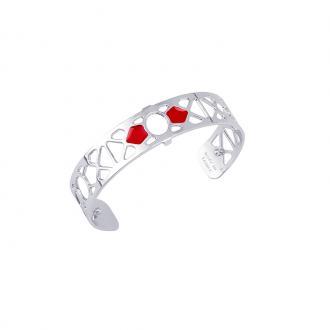 Bracelet Les georgettes Les Couleurs design Bora Bora finition argent 14 mm 70316321601000