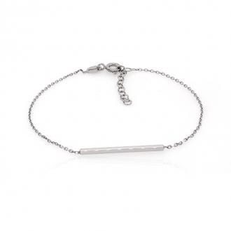 Bracelet femme Carador minimaliste argent 925/000