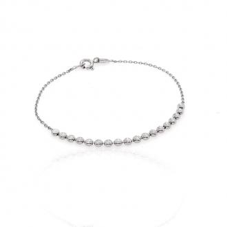 Bracelet femme Carador perles fantaisies argent 925/000