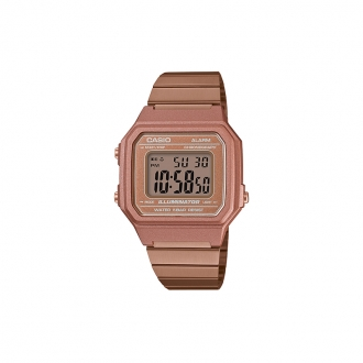 Montre casio doré rose