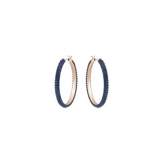 Boucles d'oreilles Swarovski Créoles Stone