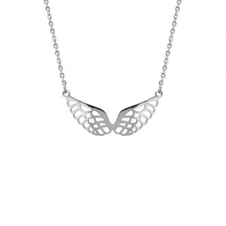 Collier Amporelle forme ailes d'ange