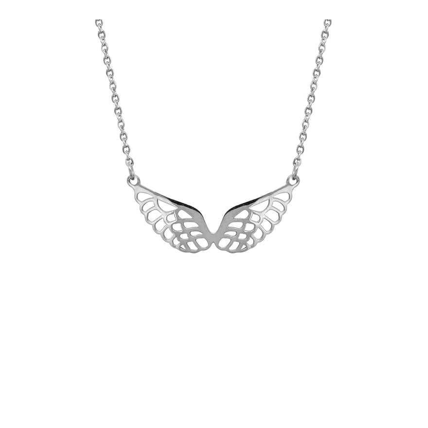 Aile D Ange collier amporelle forme ailes d'ange nst1749 pour femme