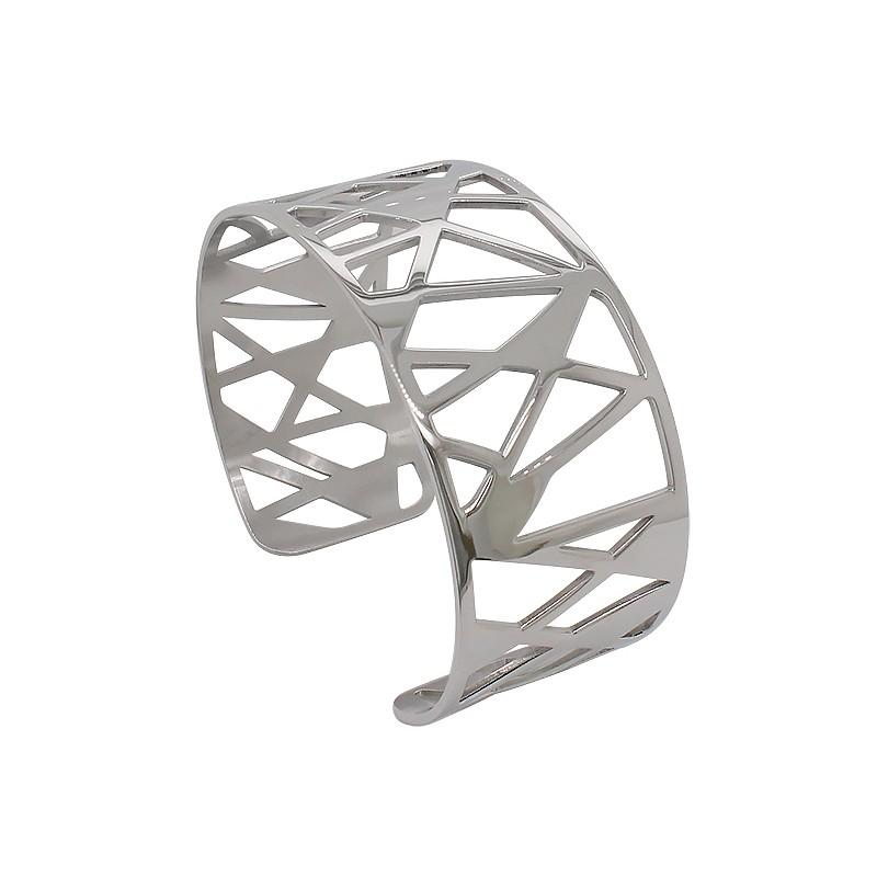 Bracelet Manchette Collection Amporelle acier