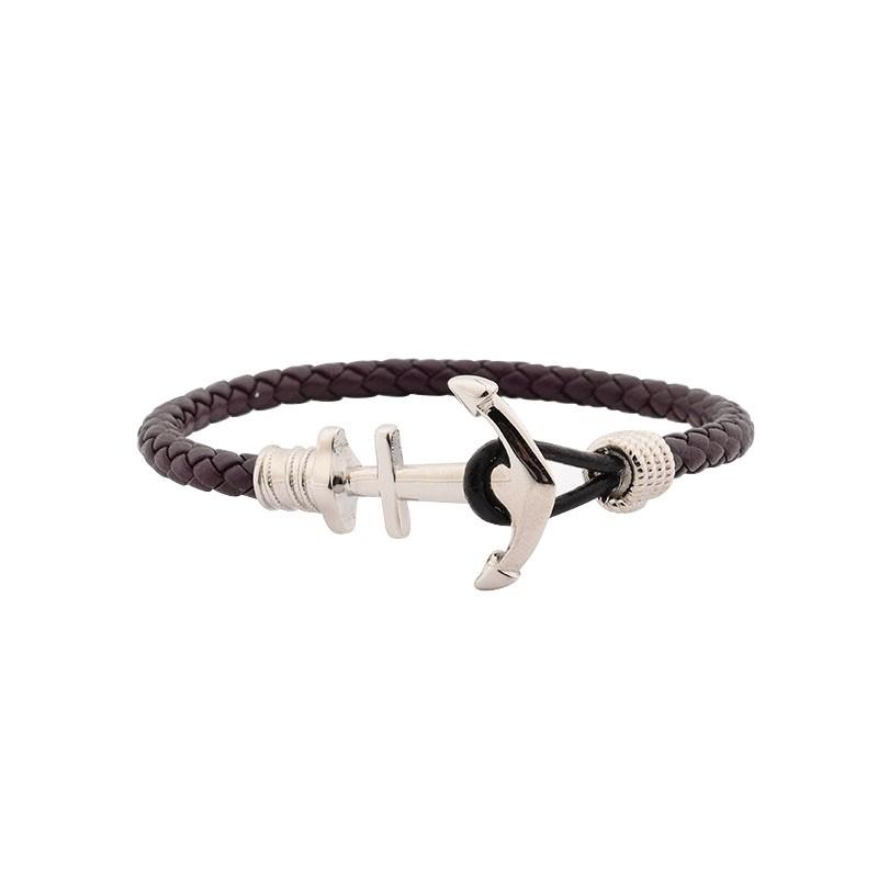 Bracelet Homme Carador Cuir marron