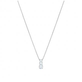 Collier Femme Swarovski Attract Trilogy Round, blanc, argenté 5414970