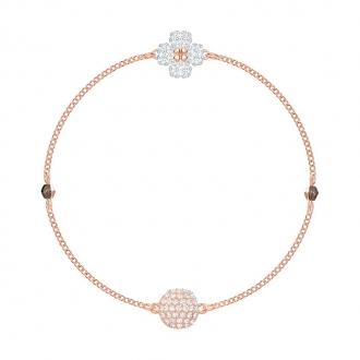 Bracelet Swarovski Remix Clover plaqué or rose 5375185