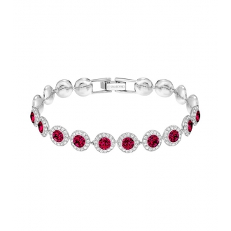 Bracelet femme Swarovski Angelic métal rhodié 5446006