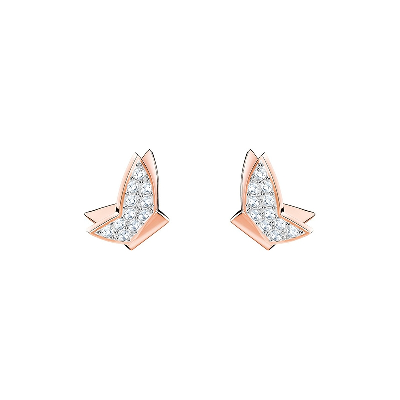 Boucles d'oreilles Swarovski Lilia Fig plaqué or rose 5382367