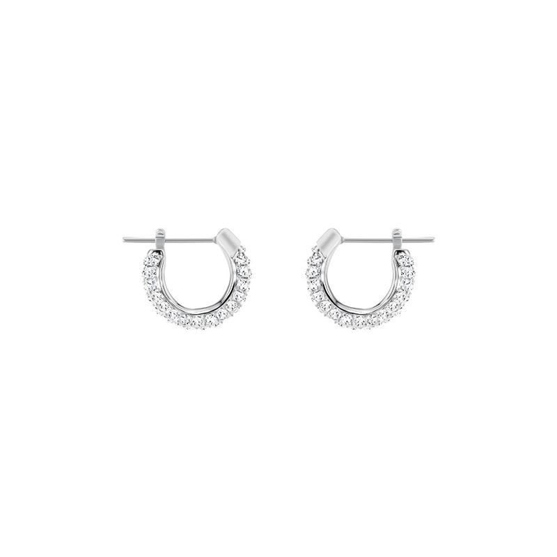 Boucles d'oreilles Swarovski Stone, métal rhodié 5446004