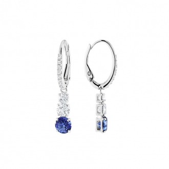 Boucles d'oreilles Swarovski Attract Trilogy Round 5416154