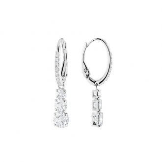 Boucles d'oreilles Swarovski Attract Trilogy Round 5416155