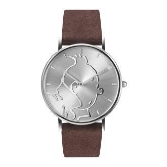 Montre Tintin Ice-Watch bracelet cuir