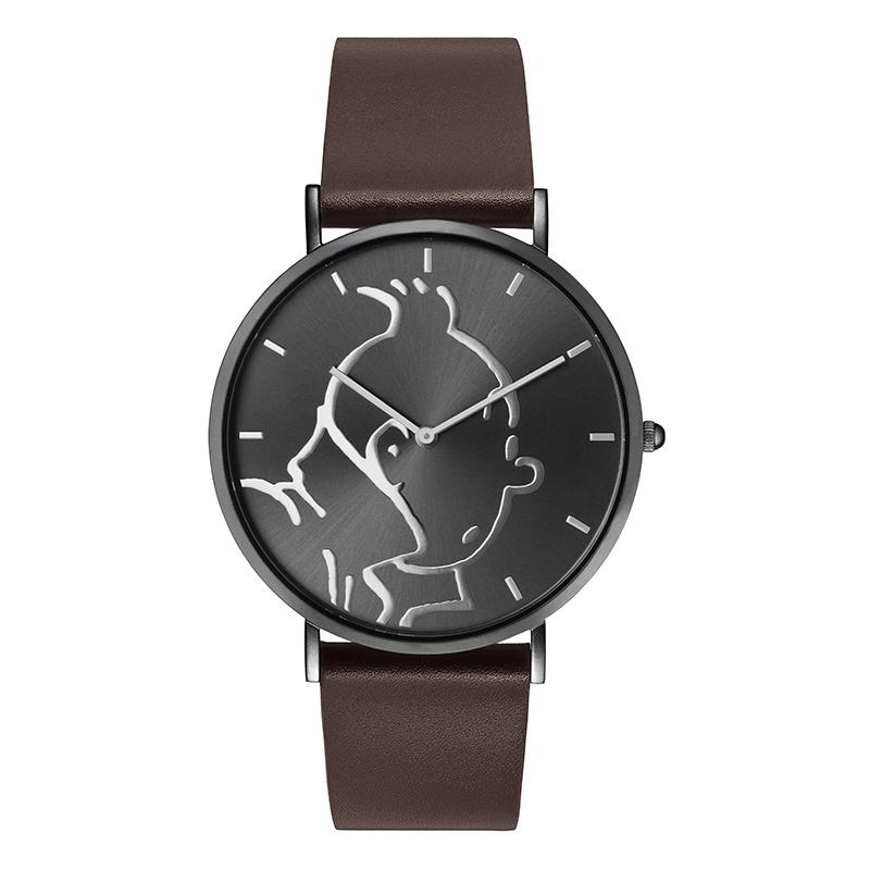 Montre Tintin Ice-Watch cadran noir