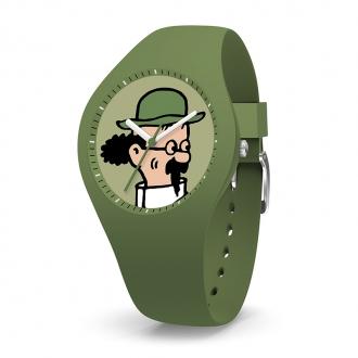 Montre Tintin Ice-Watch professeur Tournesol