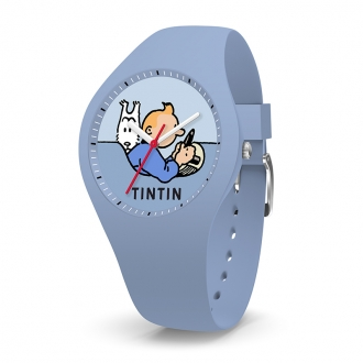 Montre Tintin Ice-Watch bleu clair