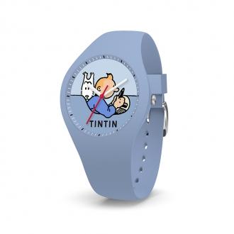 Montre Tintin Ice-Watch enfants bleu clair