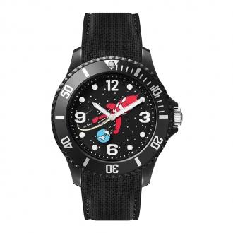 Montre Tintin Ice-Watch Fusée couleur noire