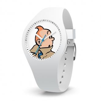 Montre Tintin Ice-Watch bracelet blanc