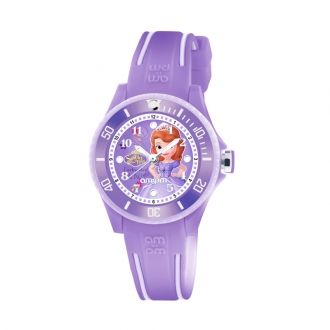 Montre AM:PM Disney violette