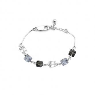 Bracelet Indicolite Cube bleu BR-CUBE-SINI