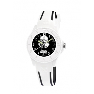 Montre AM:PM Star-Wars blanche/noire