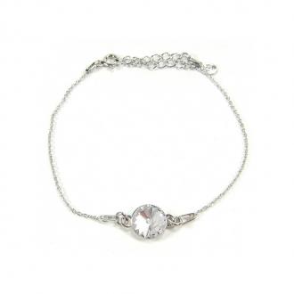Bracelet Indicolite Emily cristal blanc BR-EMI-001