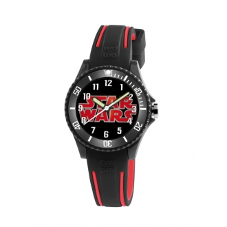 Montre AM:PM Star-wars noire/rouge