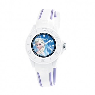 Montre AM:PM Disney bleu/blanche