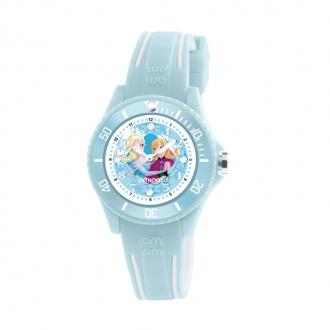 Montre Carador Disney bleu clair