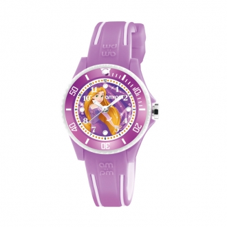 Montre AM:PM Disney rose/blanche Cendrillon