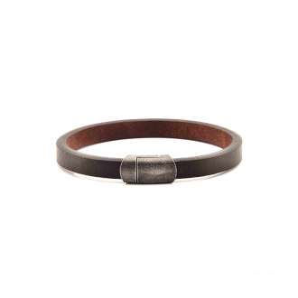 Bracelet Carador finition fermoir Gunpowder