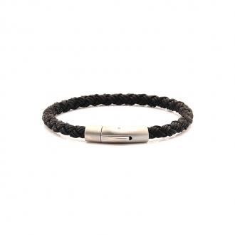 Bracelet Carador noir fermoir mat