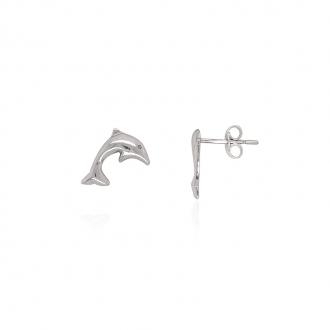 Boucles d'oreilles Carador forme dauphin
