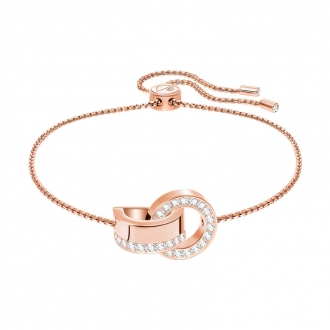 Bracelet Femme Swarovski Hollow plaqué or rose 5368040